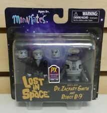 Minimates Lost in Space Dr. Zachary Smith & B-9 Robot Previews Exclusive B&W