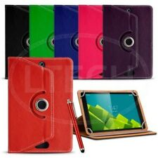 PER ANDROID 7 TABLET pollici - 360 Rotante spin CUSTODIA UNIVERSALE & PENNE