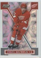 2002-03 Pacific Exclusive #61 Pavel Datsyuk Detroit Red Wings Hockey Card