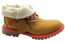 Timberland Earthkeepers EK Authentics Fabric RT Roll Top Womens Boots 8315A T1