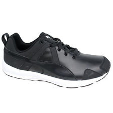 Puma Evader SL Womens Running Fitness Trainers Lace Up Black 188048 02 D35 6bc30af9937