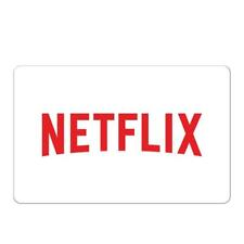 Netflix Gift Card $25, $50, or $100 - Fast email delivery