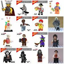 Movie Horror TV Toys Mini Figures Aliens,Clown Witch Dracula Werewolf fit lego