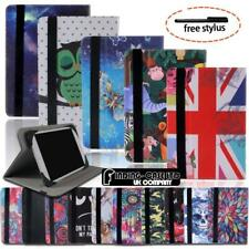 For Various COLORFUL Colorfly Tablet -Leather Silicone Rotating Stand Cover Case