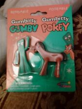 Gumbitty Gumby & Pokey Bendable Poseable Figures 2007 Age 3+ Bendies Minis!