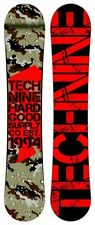 TECHNINE snowboard - T SOLDI - MIMETICO,Rosso,ibrida Camber,All-Mountain,2016