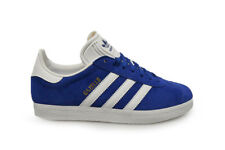 Mens Womens Unisex Adidas Gazelle Trainers S76227 Blue White