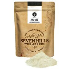 Sevenhills Wholefoods Organic Banana Powder | Fibre, Natural Flavour