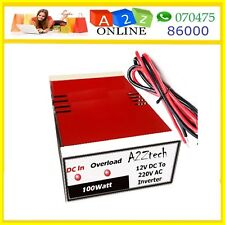 100/200/350 W Power Inverter 12VDC To 220VAC-Use For LED/DTH/CFL/MobileCharger