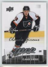 2009-10 Upper Deck MVP #85 Claude Giroux Philadelphia Flyers Hockey Card