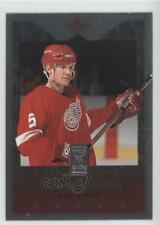 1995-96 Donruss Elite Die-Cut Uncut #2 Nicklas Lidstrom Detroit Red Wings Card