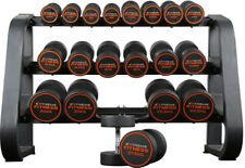 Extreme Fitness Dumbbells Olympic Round Rubber Hex Gym Weights Dumbell Sets