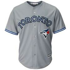 Majestic Toronto Blue Jays Cool Base MLB maillot Road Gris