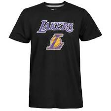 New Era Los Angeles Lakers Logo Squadra Nba T-Shirt Black