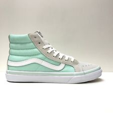 Vans Sk8 Hi Slim Pastels Bay True White Trainers