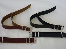 Genuine Leather Military Army MOD Style Watch Strap Band for G10