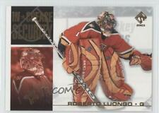 2002-03 Pacific Private Stock Reserve In Crease Security #10 Roberto Luongo Card