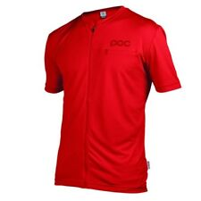 POC Trail Light Zip Tee Pewter Red 2015