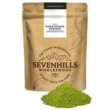 Sevenhills Wholefoods Organic EU Wheatgrass Powder | Detox