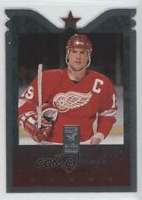 1995-96 Donruss Elite Die-Cut #99 Steve Yzerman Detroit Red Wings Hockey Card