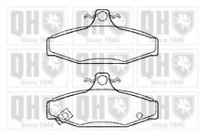 Brake Pads Set fits DAEWOO KORANDO 2.9D Rear 1999 on QH Top Quality Replacement