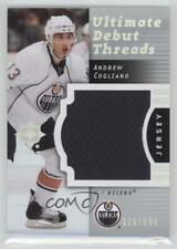 2007-08 Ultimate Collection Debut Threads #DT-AC Andrew Cogliano Edmonton Oilers