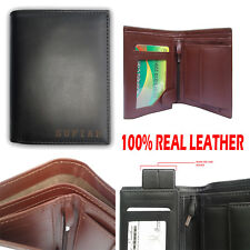 Gift MENS HIGH QUALITY PURSE LUXURY SOFT LEATHER CREDIT CARD WALLET COIN Pocket