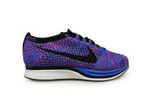 Mens Nike Flyknit Racer - 526628400 - Blue Purple Black White Trainers