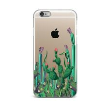 Succulent Cactus Floral Flower Silicone Rubber Gel Case For IPhone 4S