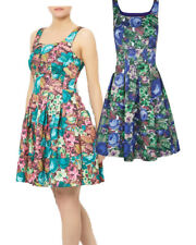 Darling Alice Floral Dress RRP �69 S-XL UK 10-16 Flared Occasion Wedding