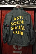 "Anti Social Social Club ""Snow Tires"" Coach Jacket - Green"