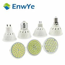 luminoso E27 E14 MR16 GU10 LAMPADA LAMPADINA LED 110V 220V LUCE A FARETTO 48 60