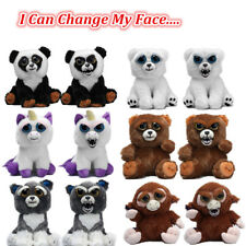 KASASE Funny Change Face Feisty Soft Plush Stuffed Animal Toy For Children Gift