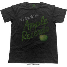 'The Beatles on Apple Records' Rock Off Black Label T-Shirt *New & Official*