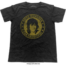 *Rolling Stones* 'Keith Richards For President' Vintage Style T-Shirt