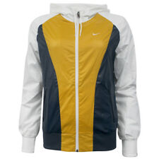 Nike Womens Running Training Lightweight Full Zip Jacket Yellow 382060 473 M17