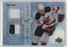 2007 Upper Deck Ice Fresh Threads PETG #FT-NB Nicklas Bergfors New Jersey Devils