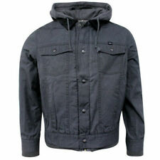 Vans Off The Wall AV Edict Deluxe Wax Finished Mens Jacket Grey XOY2PE Vans D