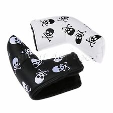 High Quality PU Skull Golf Club Putter Cover Headcover Protectors Accessories
