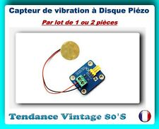 *** LOT DE 1 OU 2 MODULES CAPTEURS DE VIBRATION A DISQUE PIEZO / ARDUINO ***