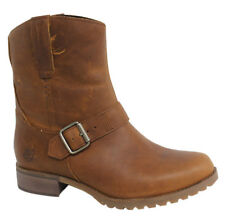 Timberland Banfield Mid Pull On Brown Leather Womens Boots A162V D37