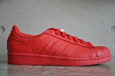 Adidas Pharrell Williams Superstar Supercolor Pack - Red/Red/Red