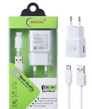 Adaptador Cargador Pared Casa 2.4/3.1A USB Cable Type/Tipo-C para Tablet/SAMSUNG