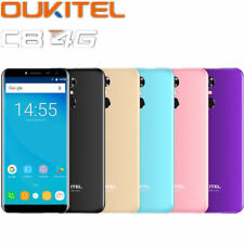 "5.5 "" Oukitel C8 8.0MP Sbloccato 4G SMARTPHONE ANDROID 7 Quad-Core 2G+16GB"
