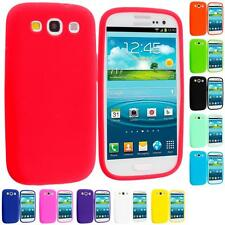 Silicone Rubber Gel Color Skin Case for Samsung Galaxy S III S3 i9300