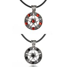 PENTAGRAM STAR PENDANT NECKLACE Wiccan Pagan Gothic Occult Jewellery Gift Idea
