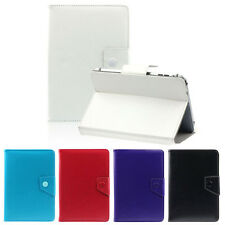 "Universal Cristal Funda de piel con Soporte Funda for7 8"" 9 10"" Tablet PC IPAD"