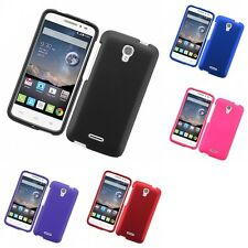 For Alcatel Pop Astro 5042T Hard Snap-On Rubberized Phone Skin Case Co