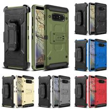 For Samsung Galaxy Note 8 Tough Armor Case Defender Holster Heavy Duty