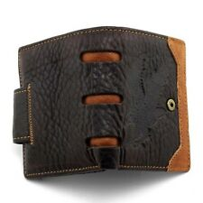 Men Wallet Leather Vintage Male Purse Coin Bag Money Credit Card ID Organizer